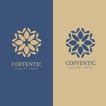 Coffentic | Logo Látványterv