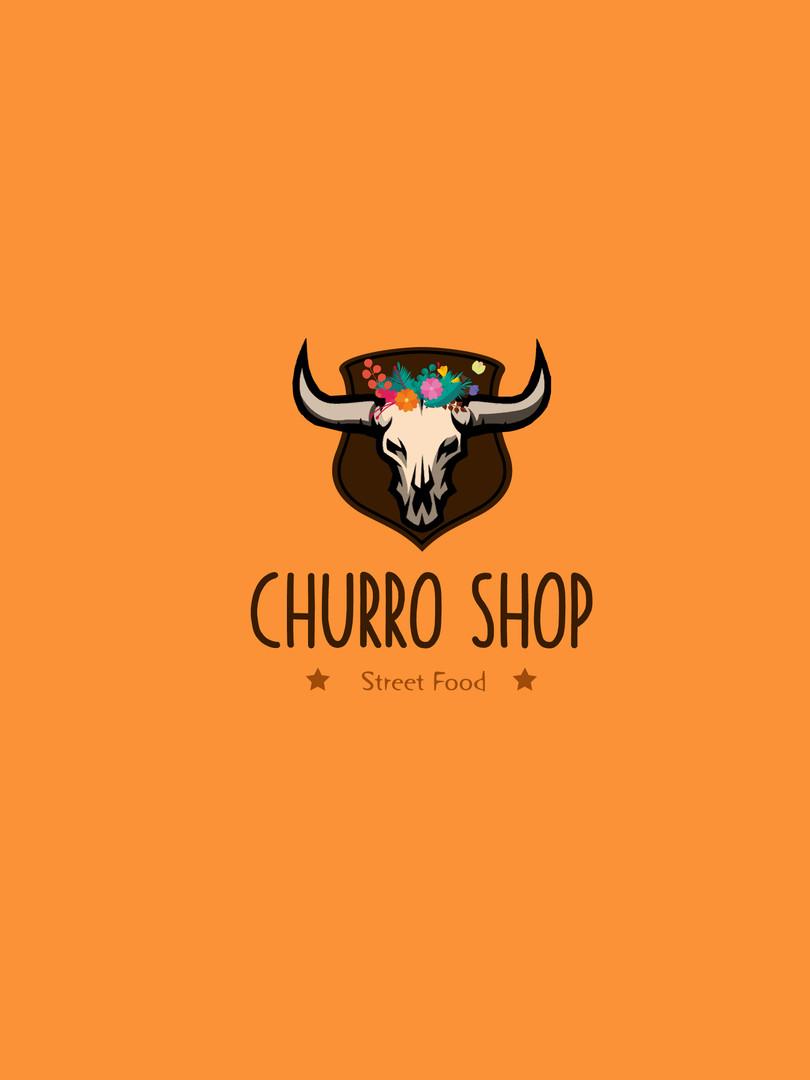 ChurroShop | Logo Látványterv
