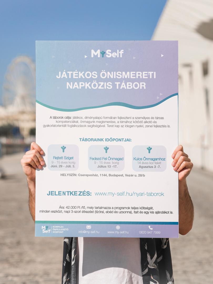MySelf | Napközis Tábor Plakát