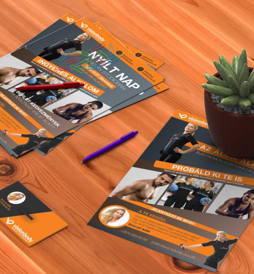 VisionBody | Flyer Tervezés