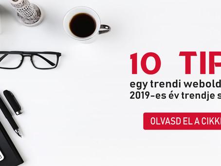 10 TIPP EGY TRENDI WEBOLDALHOZ