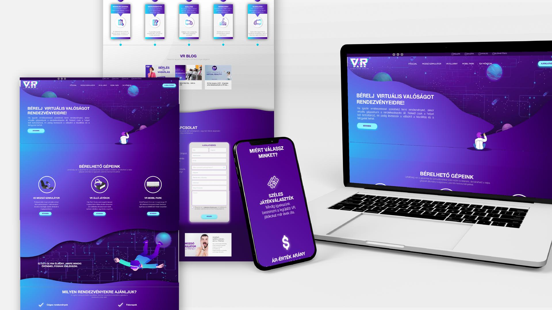 VR Mobil Park | Komplex Online Megjelenés