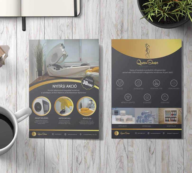 QueenShape / Flyer