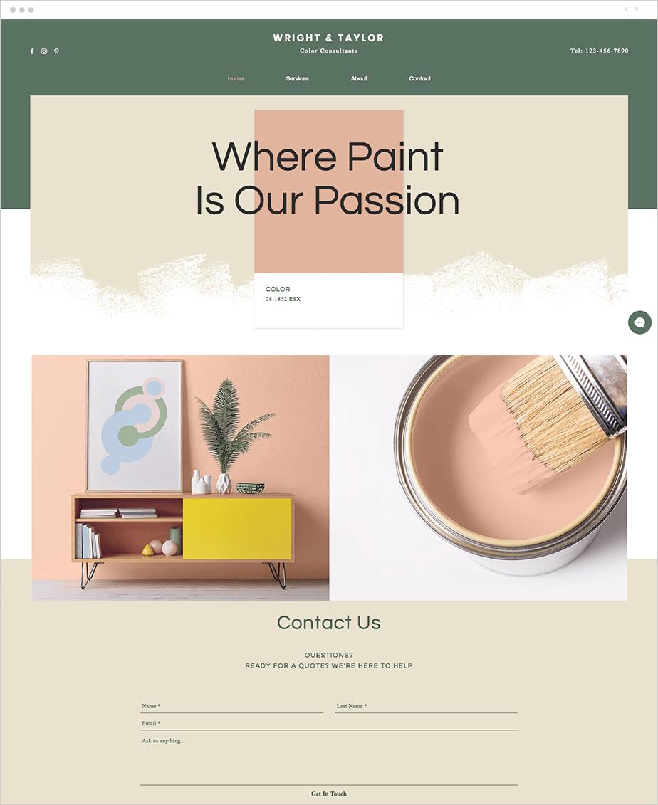 2019 webdesign színei