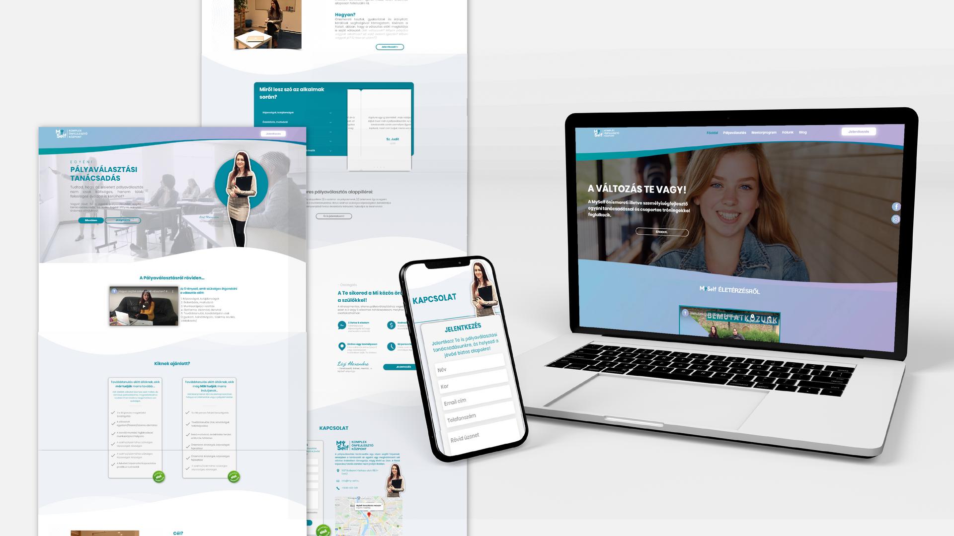 MySelf | Teljes Online Megjelenés