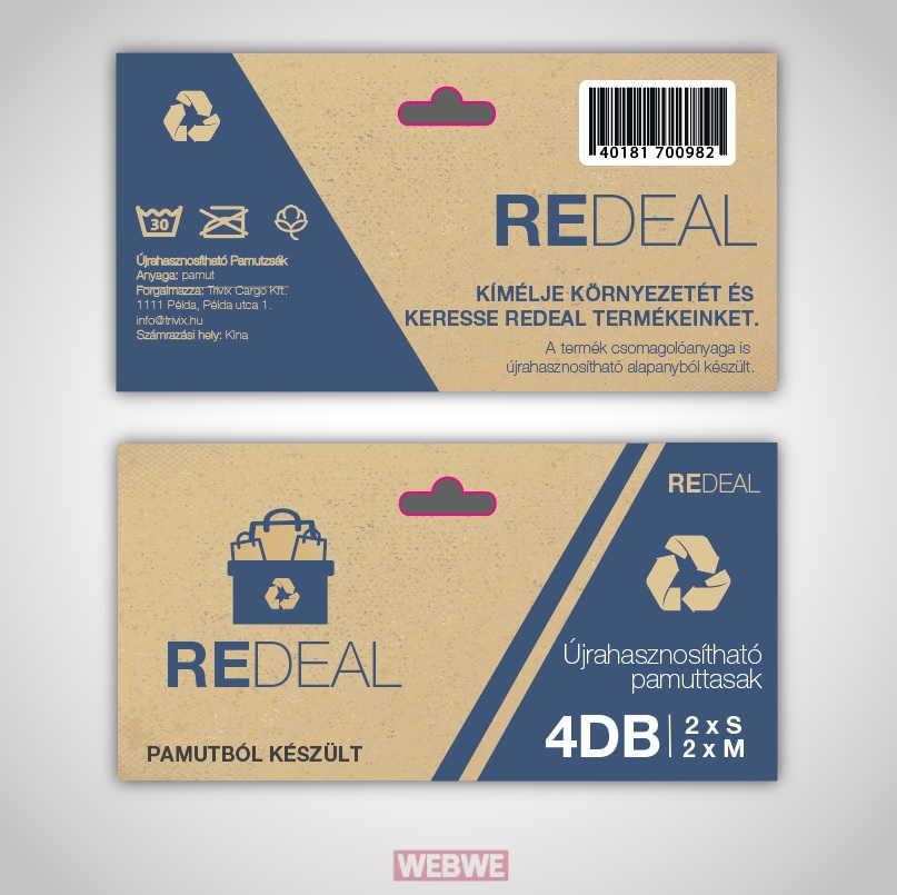 Redeal | Csomagolás tervezés