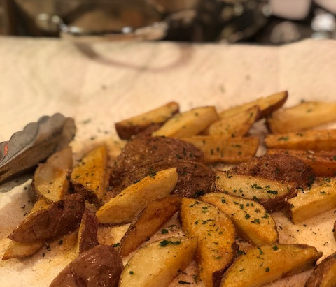 How a Dietitian Does Fried Potatoes