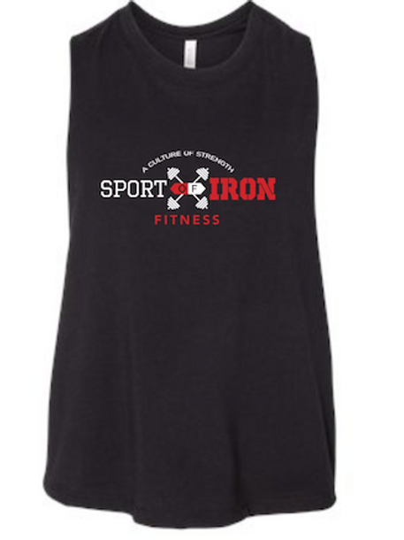 Sport of Iron Women's Racerback Crop Tank