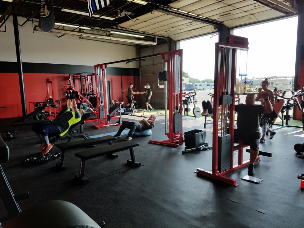 Main Open Gym Area