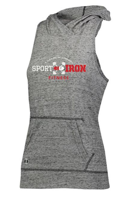 Sport of Iron Sleeveless Women's Hoodie