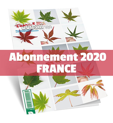 Abonnement France Bonsaï 2020 France