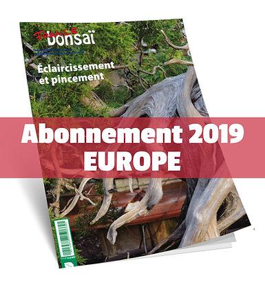 Abonnement France Bonsaï 2019 (UE)