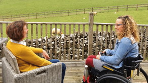 Peak District Log Cabin Holidays with Disabled Access | COVID Safe Travel
