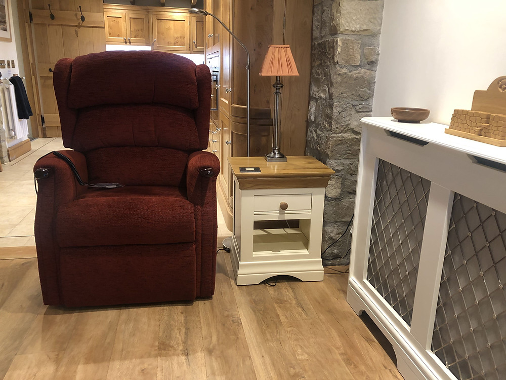 The Dairy Wheelchair Accessible Cottage Recliner Chair