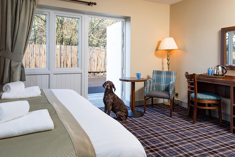 The Amble Inn Accessible Room
