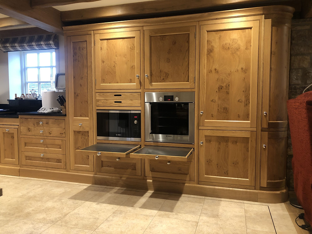 The Dairy Wheelchair Accessible Cottage Kitchen accessible work surfaces
