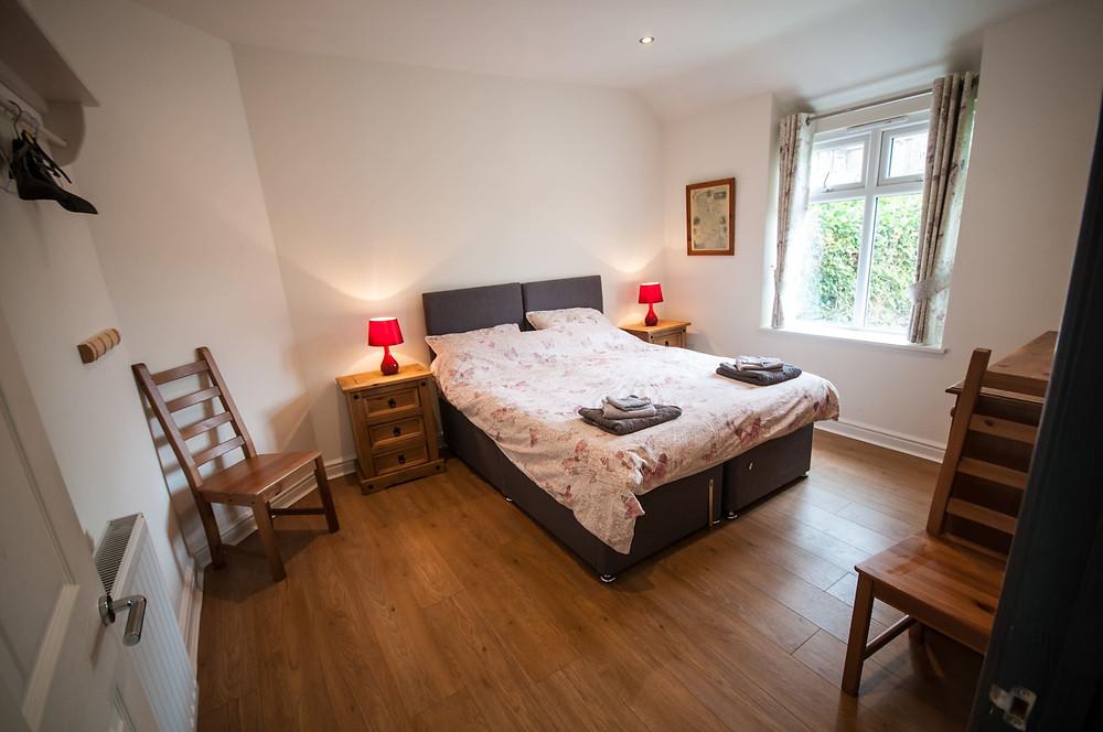 Croft Bungalow double bedroom