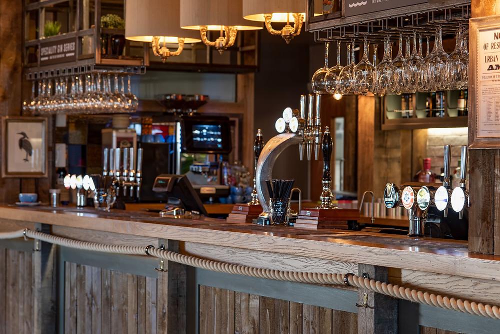 The Amble Inn Bar