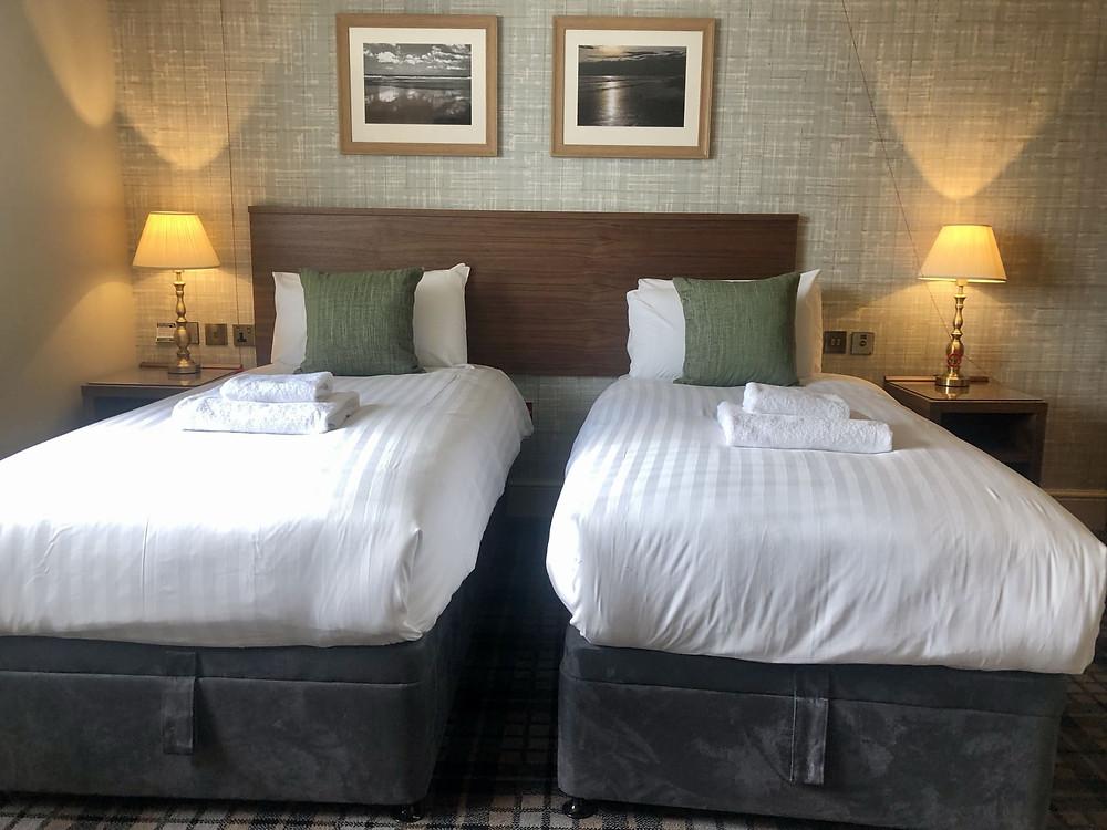The Seaburn Inn Sunderland wheelchair accessible bedroom twin beds