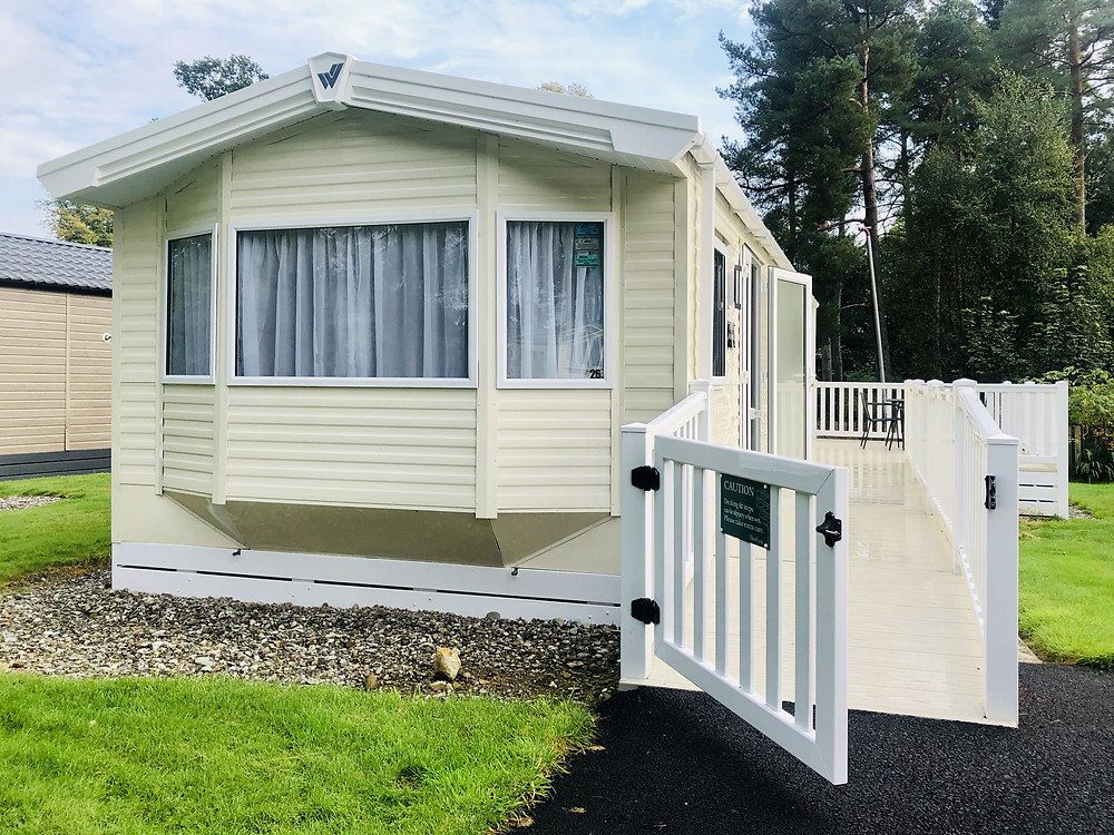 Callander Woods Wheelchair Accessible Caravan