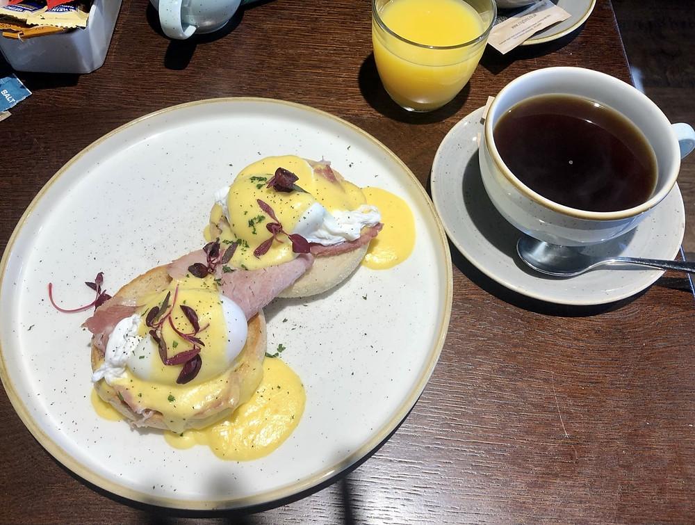The Seaburn Inn Sunderland wheelchair accessible inn breakfast eggs benedict