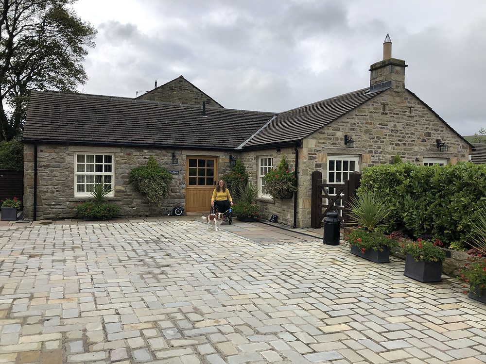 The Dairy Wheelchair Accessible Cottage Exterior