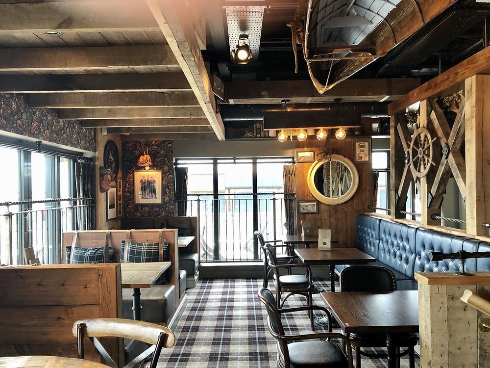 The Seaburn Inn Sunderland dining area