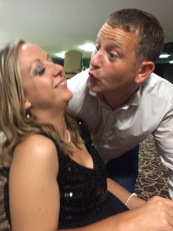 Carrie-Ann Lightley Disabled Travel Blogger and her husband Darren