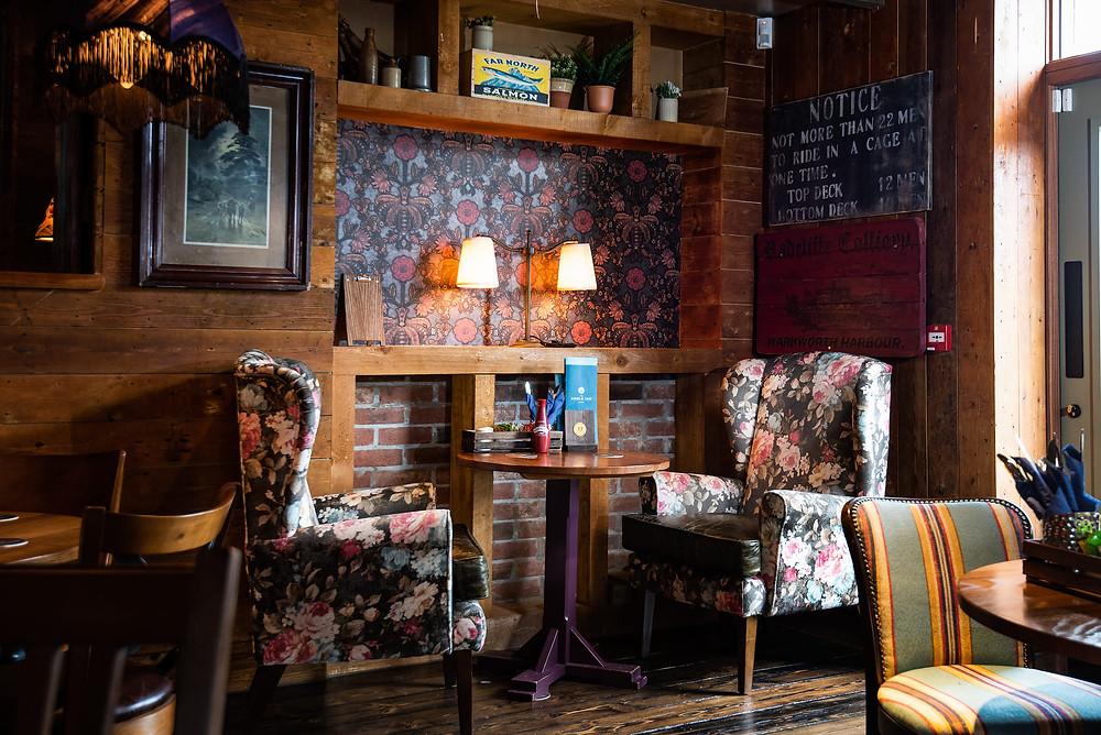 The Amble Inn Dining