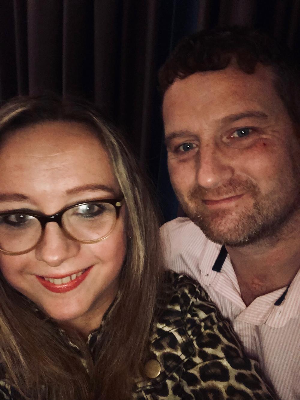Carrie-Ann Lightley and husband Darren