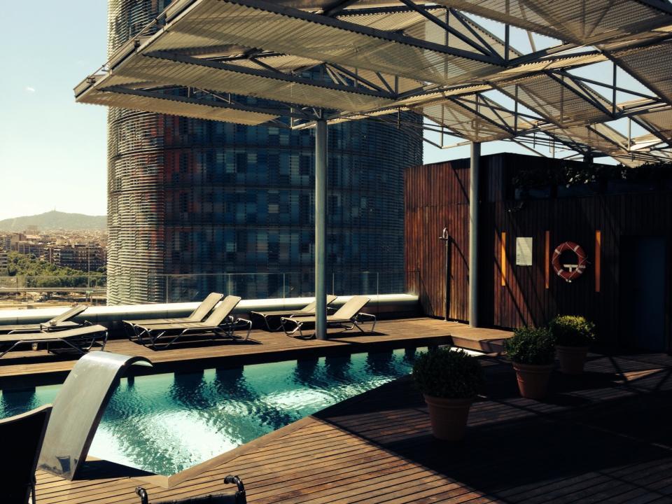 Silken Diagonal Barcelona Pool