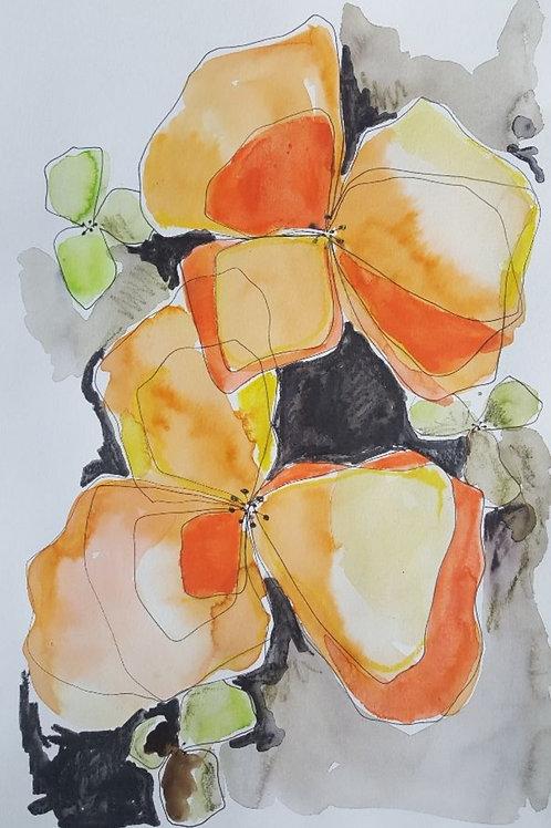 Floral Watercolor no. 2