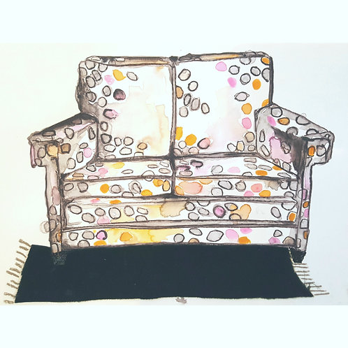 Spotted Love Seat