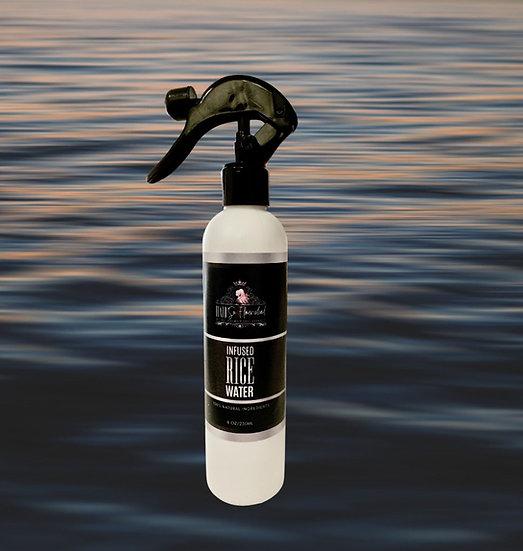 Infused Black Rice Water