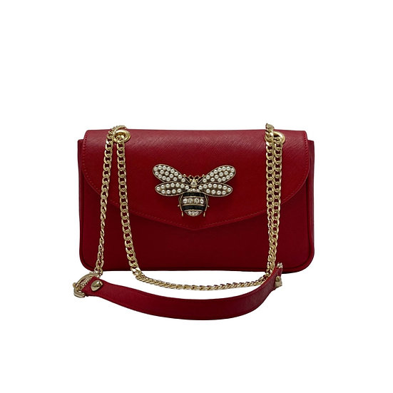 Marianne Bee Leather Bag