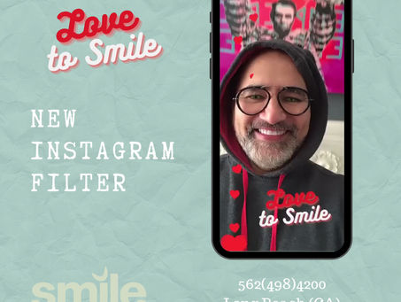 Love To Smile - New Instagram Efffect on @smilethespalongbeach