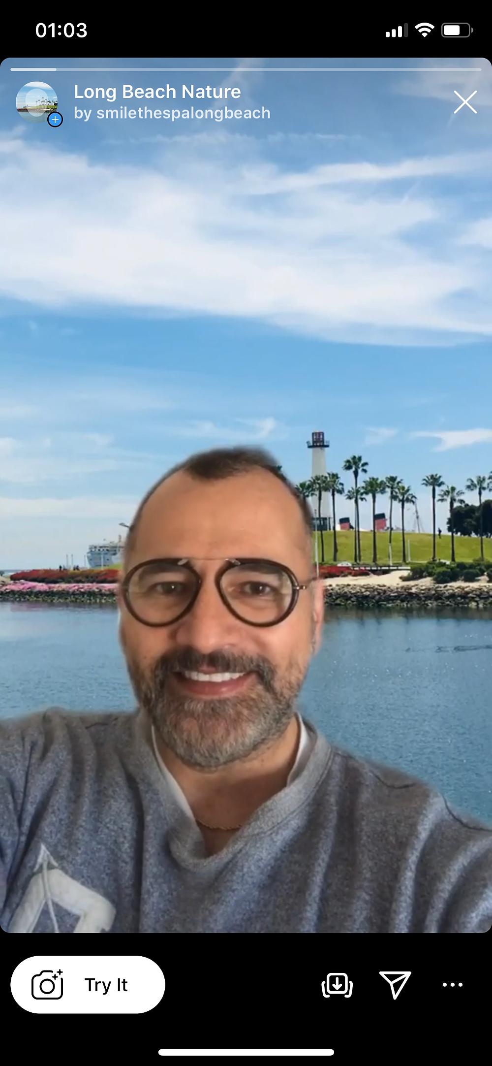 Long Beach Instagram Filter