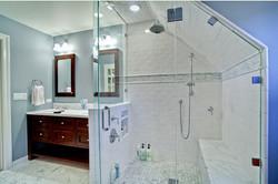 Shower and bathroom remodeling