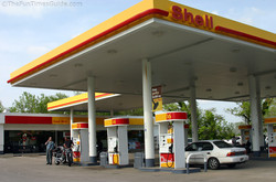 Shell Gas Station Remodeling
