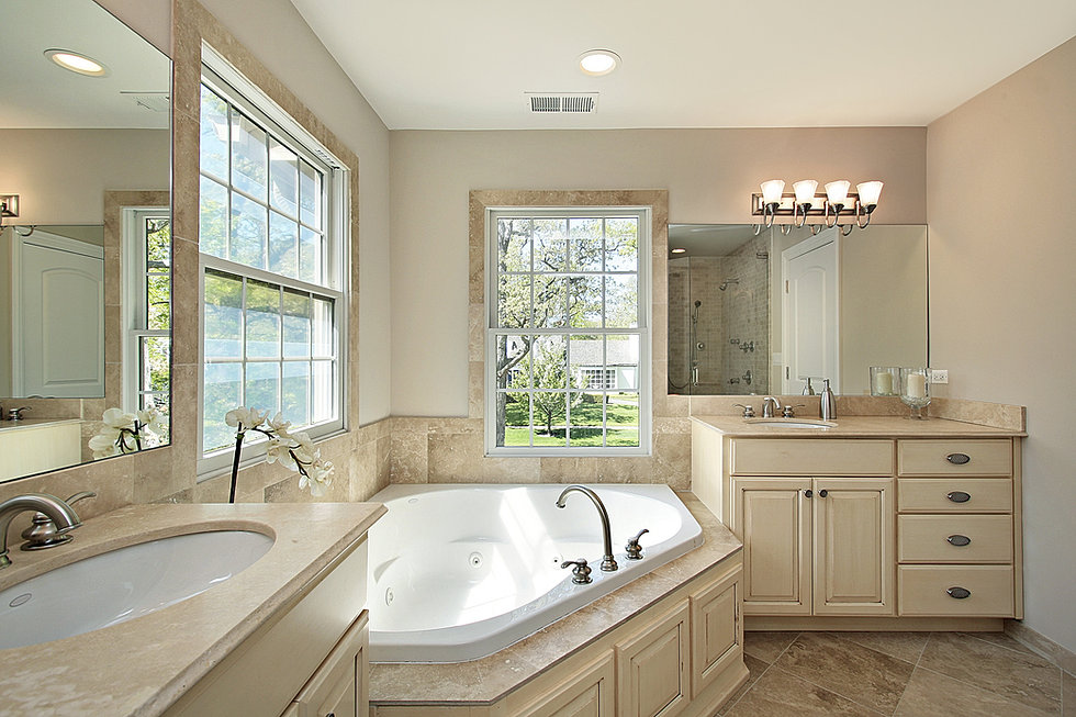 bathroom remodeling with corner bath - Dallas Bathroom Remodeling