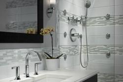 Modern bathroom with Shower system