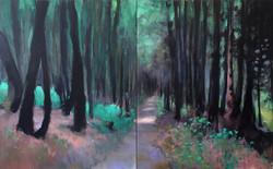 Léon dans la forêt