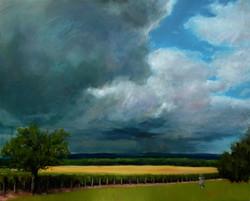 Arnas, l'orage