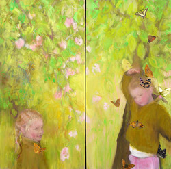 Lucie aux papillons