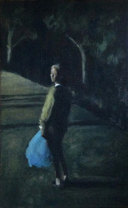 La femme au sac