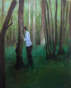 Charlotte dans les arbres