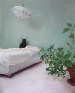 Le chat dans la chambre de Marino