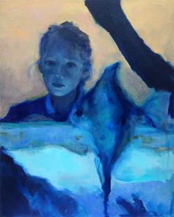Lucie aqua blue