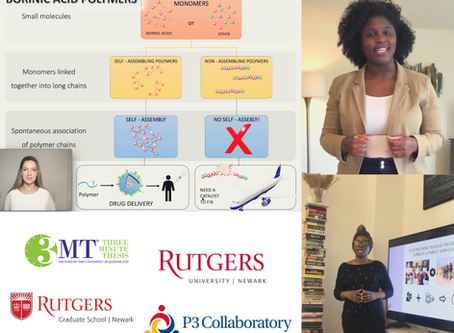 Rutgers-Newark Announces the Winners of the 2020 Three Minute Thesis Competition