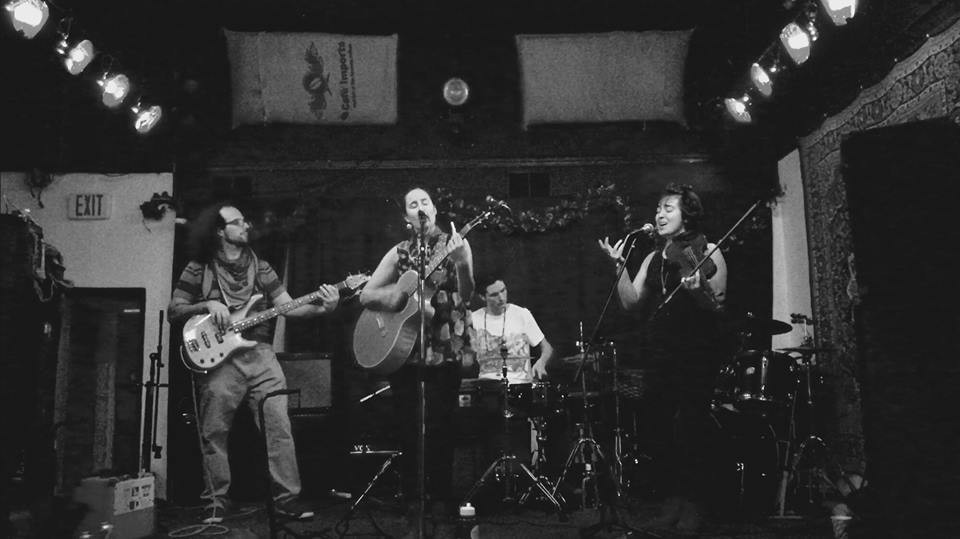 Shosha Wolf and the Midnight Howlers, fundraiser show for Standing Rock Peaceful Protest